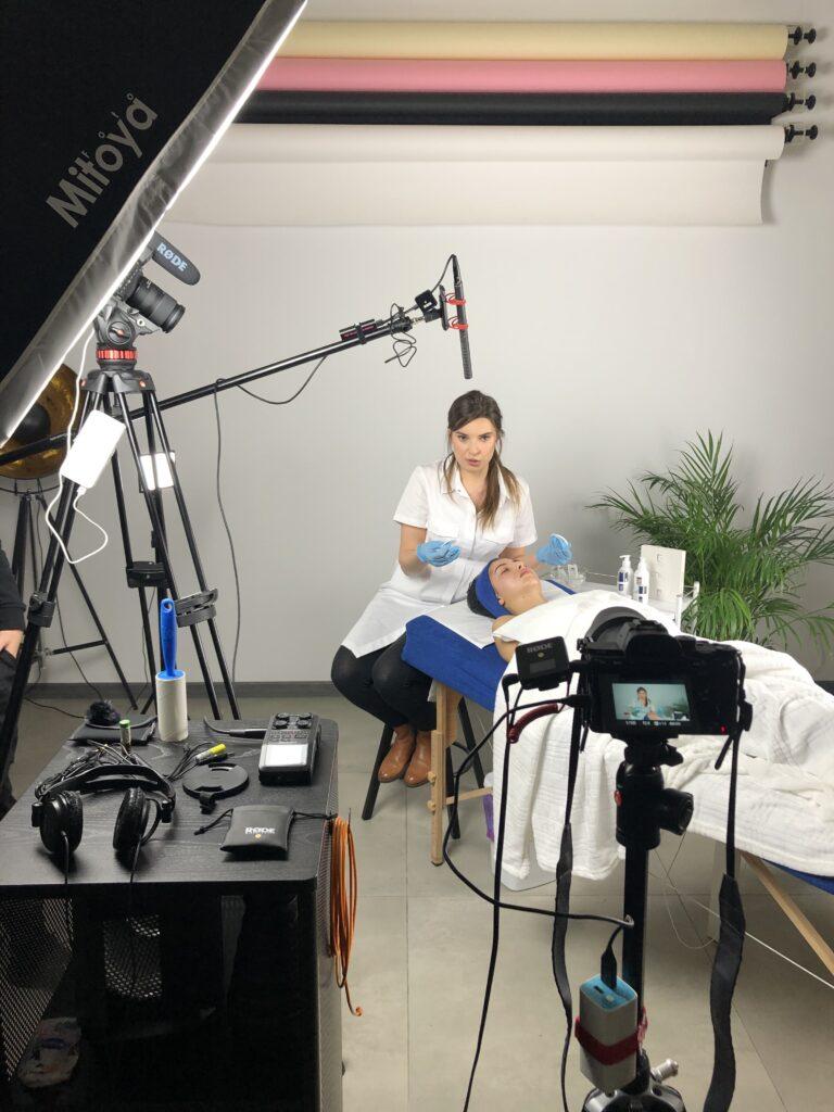 Film szkoleniowy dla branży beauty